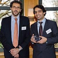 Hervé Paruta (BNP Paribas) et Éric Cohen (Mauna Kea Technologies).