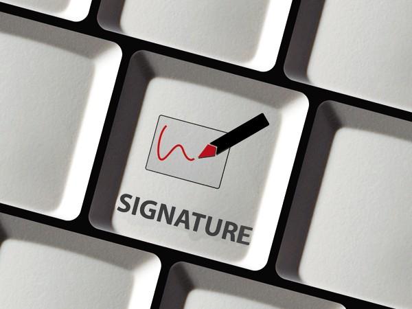 la fin de la signature manuscrite sign e par universign. Black Bedroom Furniture Sets. Home Design Ideas