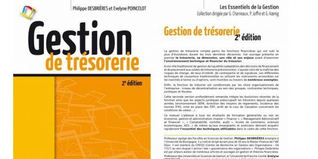 [Livre] Gestion de trésorerie, par Philippe Desbrières et Évelyne Poincelot