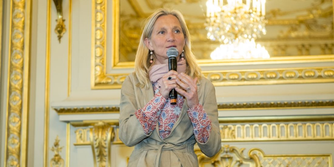 Clara Gaymard, cofondatrice de Raise, était l'invitée d'honneur de cette 4e édition des Trophées Daf Magazine.
