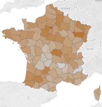 [Infographie] Carte de France des entreprises de taille moyenne