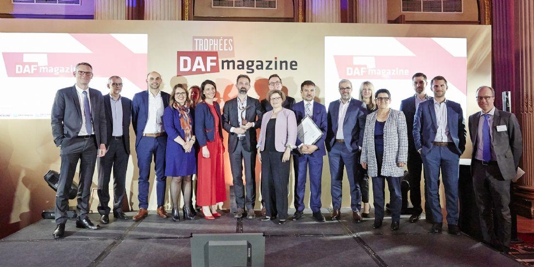 [Trophées Daf 2018] Les lauréats sont Bertrand de Belmont (Vulcain Ingénierie), Susanne Liepmann (Ethypharm) et Loïc le Berre (Groupe Gorgé)