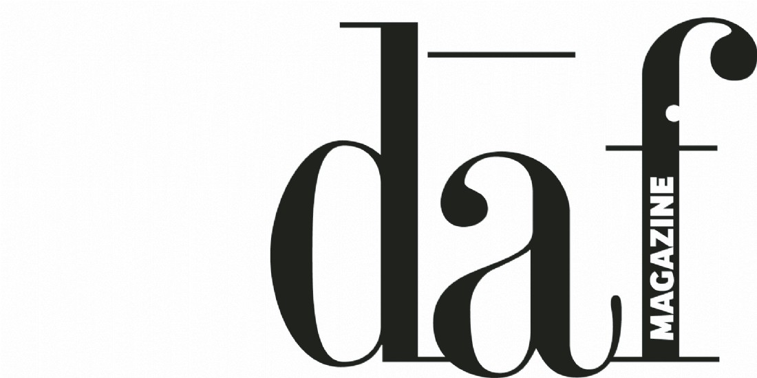On lève le voile sur le nouveau logo de DAF Magazine...