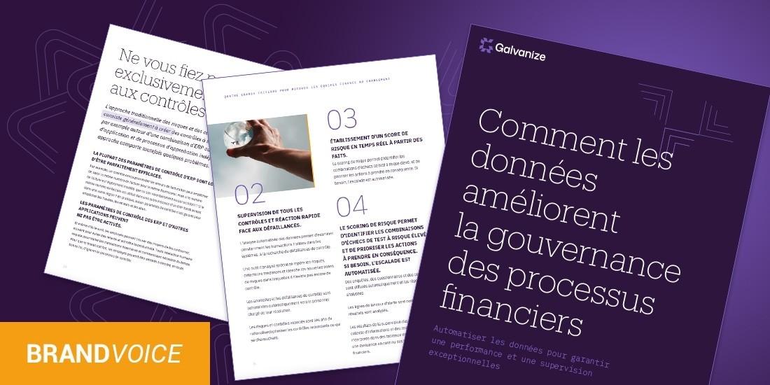 Comment les données améliorent les processus financiers