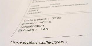 La convention collective réglemente une branche professionnelle.