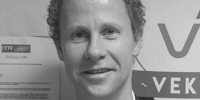 Maxence Wiel, directeur financier de Vekia