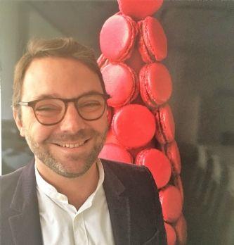 Brice Boutin, directeur administratif et financier de Ladurée