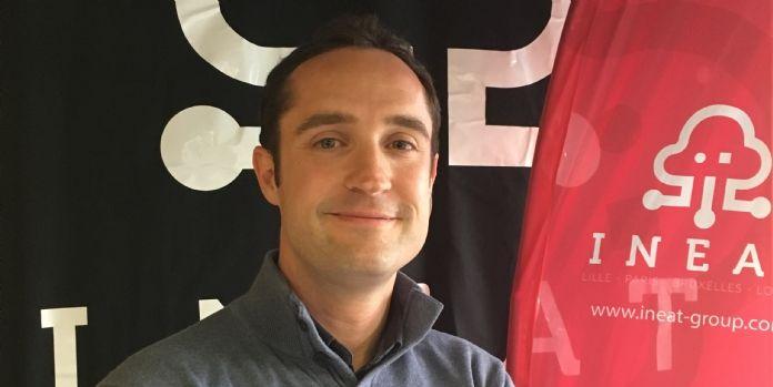 Laurent Guestin est nommé directeur administratif et financier d'Ineat Group